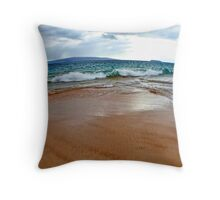 Makena Beach II ~ Maui Throw Pillow