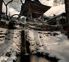 Old Nozawa Temple by Robert Mullner