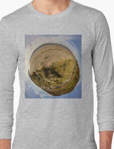 Lisfannon Beach, Fahan, County Donegal, Sky Out Long Sleeve T-Shirt