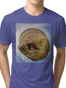 Lisfannon Beach, Fahan, County Donegal, Sky Out Tri-blend T-Shirt