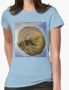 Lisfannon Beach, Fahan, County Donegal, Sky Out Womens Fitted T-Shirt