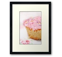 The BEST vanilla cupcakes Framed Print