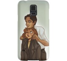 Mulder and Scully Samsung Galaxy Case/Skin