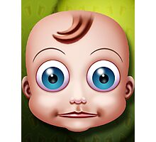 Baby Doll Head... Photographic Print