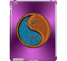 Cancer & Rooster Yin Wood iPad Case/Skin