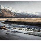 Mt Cook Panorama by Karen Scrimes