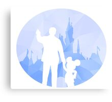 Diamond Disneyland Metal Print