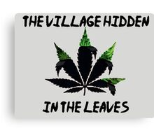 The Village Hidden in The Leaves Canvas Print