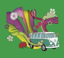 60's Van with Foulli and Gerbera by Barbora  Urbankova