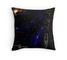 Midnight Magnificence Throw Pillow