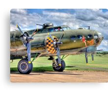Sally B - A Flying Legend - HDR Canvas Print