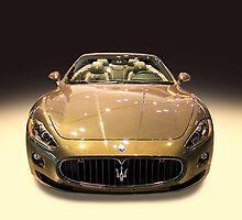 Maserati gold colour by Radoslav Nedelchev