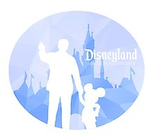 Disneyland 60th Anniversary Photographic Print