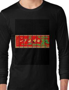 Embroid Screen   Long Sleeve T-Shirt