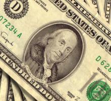 The art of money Sticker