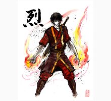 Zuko from Avatar with sumi ink and watercolor Unisex T-Shirt
