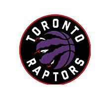 Toronto Raptors Alternate Logo Photographic Print