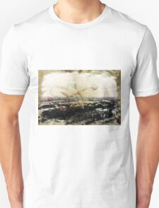 Cityscape Stained Unisex T-Shirt