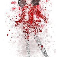 Scarlet Witch Splatter Graphic by ProjectPixel
