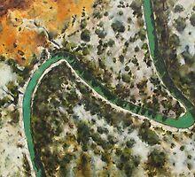 Darling River by Julian  Thompson