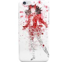 Scarlet Witch Splatter Graphic iPhone Case/Skin