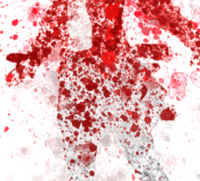 Scarlet Witch Splatter Graphic Sticker