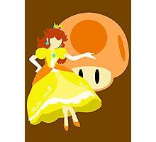 Super Smash Bros Peach (Daisy Alternative) Photographic Print