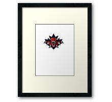 Toronto Raptors Redesigned Logo Framed Print