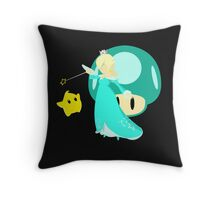 Super Smash Bros Rosalina & Luma  Throw Pillow
