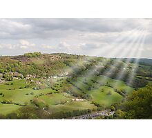 The Hills Have Beams. Photographic Print