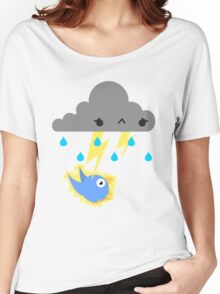 Moody Cloud Women's Relaxed Fit T-Shirt
