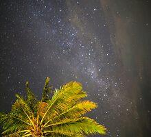 Candidasa Night Sky - Bali by Paul Campbell  Photography