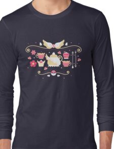 Fairy Tea Time Long Sleeve T-Shirt