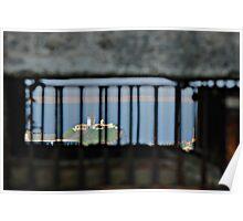 Nobbys' Lighthouse from Shepherd's Hill Radar Poster