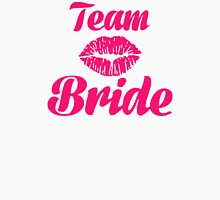 Team bride kiss Womens Fitted T-Shirt