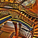 Queen Victoria Building - Sydney - Philip Johnson Fine Art Calendar by Philip Johnson