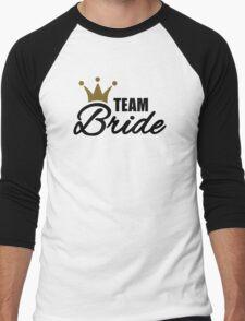 Team bride crown Men's Baseball ¾ T-Shirt