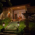 Spa at Night - Bali by Paul Campbell  Photography