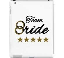 Team bride stars iPad Case/Skin