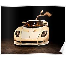 new sport car isolated  Poster