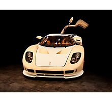 new sport car isolated  Photographic Print