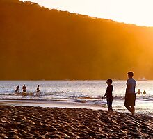 Stand By Me - Playa Hermosa - Costa Rica by Mark Tisdale