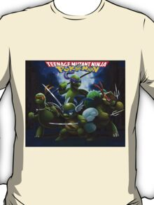 Teenage Mutant Ninja Pokemon T-Shirt
