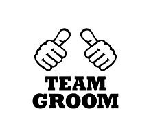 Team groom Photographic Print
