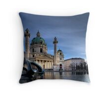 Karlskirche Throw Pillow