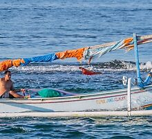 Bringing in the Catch - Bali by Paul Campbell  Photography