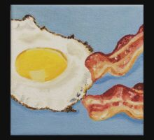 Eggs & Bacon Painting Kids Clothes