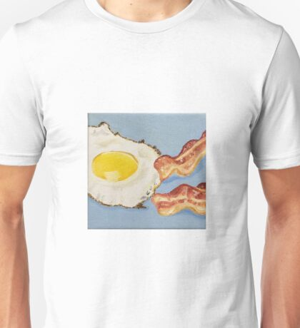 Eggs & Bacon Painting Unisex T-Shirt