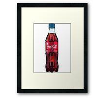 Lip Balm Flavoured Coke Framed Print