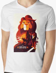 The Lion King Mens V-Neck T-Shirt